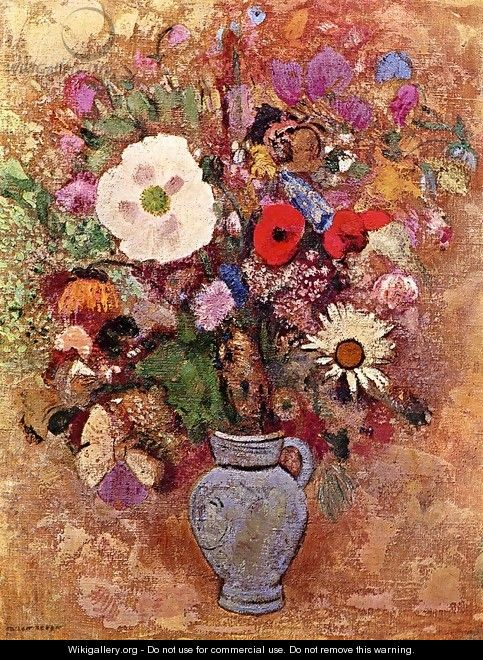 Bouquet Of Flowers - Odilon Redon