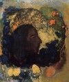 Black Profile Aka Gauguin - Odilon Redon