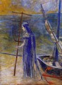 The Fisherwoman - Odilon Redon