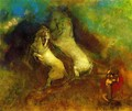 The Chariot Of Apollo3 - Odilon Redon
