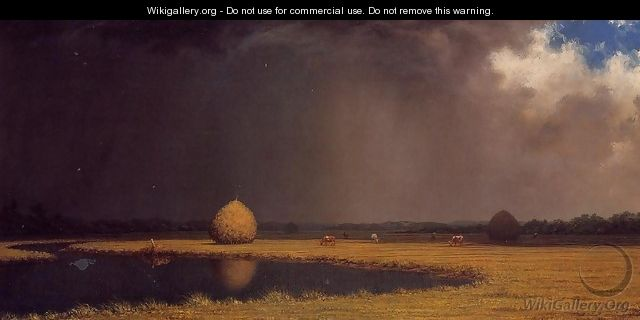 Salt Marsh Hay - Martin Johnson Heade