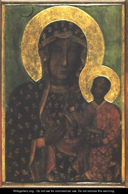 Our Lady of Czestochowa - Unknown Painter