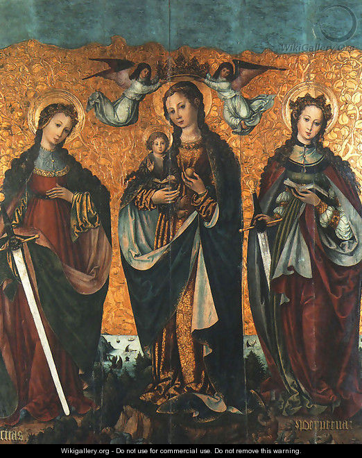 Sacra Conversazione - Unknown Painter
