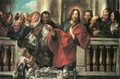 Jesus and the Pharisees - Jacob Jordaens