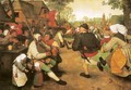 Peasant Dance - Pieter the Elder Bruegel