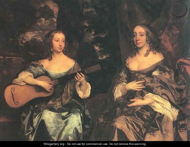 Two Ladies of the Lake Family c. 1660 - Sir Peter Lely