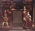 Henry VII, Elizabeth of York, Henry VIII, and Jane Seymour 1667 - Remigius Van Leemput
