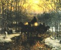 Journey in a Carriage - Alfred Wierusz-Kowalski