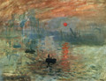 Impression, Sunrise - Claude Oscar Monet