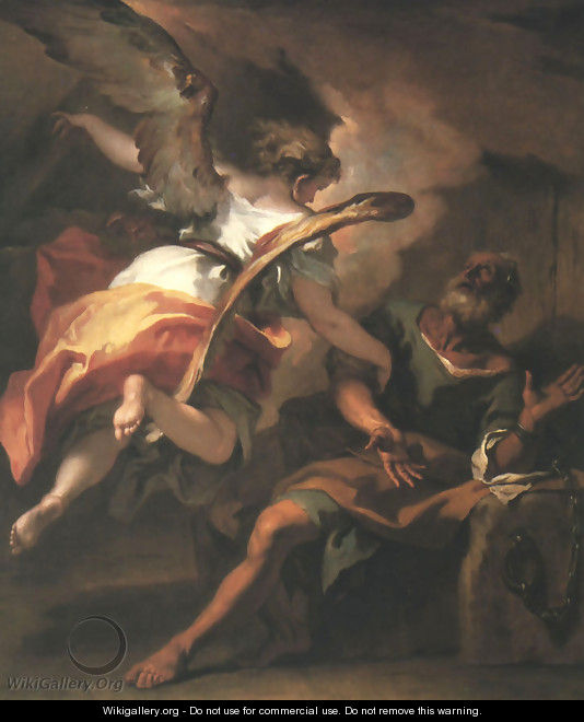 The Liberation of St. Peter 1722 - Sebastiano Ricci