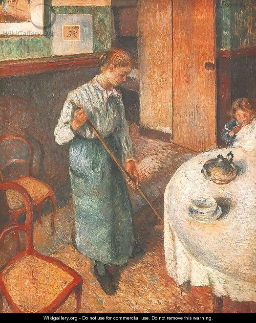 Little Country Maid - Camille Pissarro