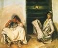 Two Arab Women - John Singer Sargent