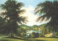 View at Stourhead - Francis Nicholson