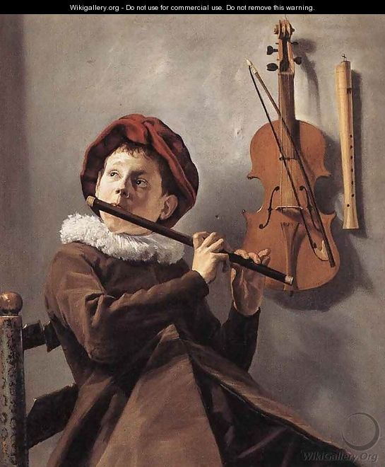 Young Flute Player c. 1635 - Judith Leyster
