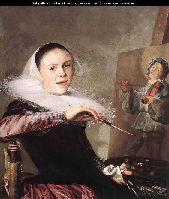 Self-Portrait c. 1635 - Judith Leyster