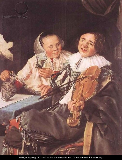 Carousing Couple 1630 - Judith Leyster