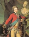 Portrait of Alexander Lanskoy, Aide-de-camp to the Empress 1782 - Dmitry Levitsky