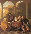 Musical Party on a Terrace 1650 - Jacob van Loo