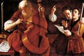 Concert with Two Singers - Giovanni Domenico Lombardi