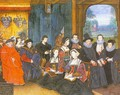 Graphic Sir Thomas More with his Family 1593 - Rowland Lockey