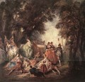 Company in the Park - Nicolas Lancret