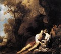 Amorous Couple in a Landscape c. 1640 - Sir Peter Lely