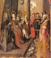 St. Ursula Announces her Pilgrimage to the Court of her Father - Master of the Legend of St. Ursula