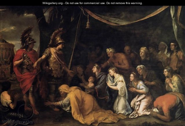 The Family of Darius before Alexander c. 1660 - Charles Le Brun