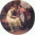 Papirius Pratextatus Entreated by his Mother to Disclose the Secrets of the Deliberations of the Roman Senate - Angelica Kauffmann