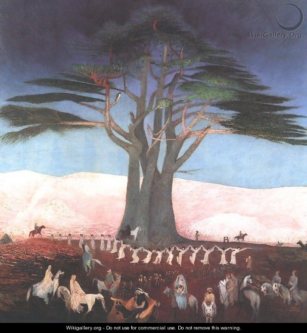Pilgrimage to the Cedars of Lebanon 1907 - Tivadar Kosztka Csontváry