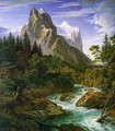 The Wetterhorn with the Reichenbachtal 1824 - Joseph Anton Koch