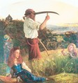 The Mower 1861-65 - Arthur Hughes