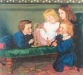 The Children of George Birkbeck Hill 1866 - Arthur Hughes
