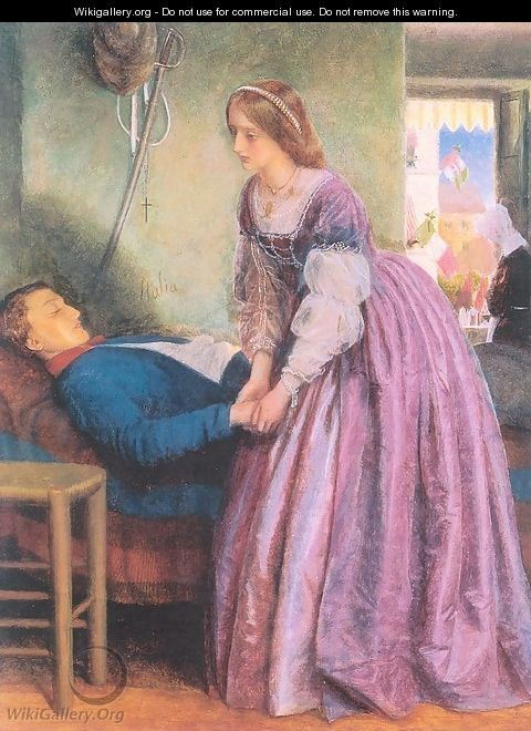 That Was a Piedmontese 1861-62 - Arthur Hughes