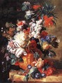 Bouquet of Flowers in an Urn 1724 - Jan Van Huysum