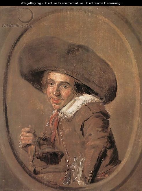 A Young Man in a Large Hat 1628-30 - Frans Hals