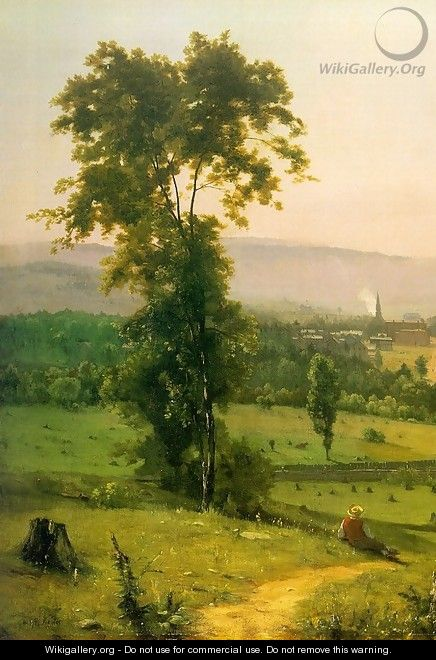 The Lackawanna Valley (detail) 1855 - George Inness