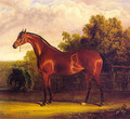 Negotiator the Bay Horse in a Landscape 1826 - John Frederick Herring Snr