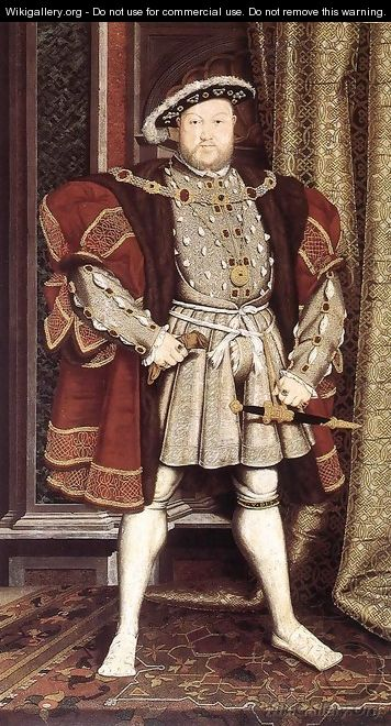 Henry VIII after 1537 - Hans, the Younger Holbein