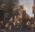 Soliciting Votes 1754 - William Hogarth