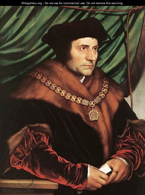 Sir Thomas More 1527 - Hans, the Younger Holbein