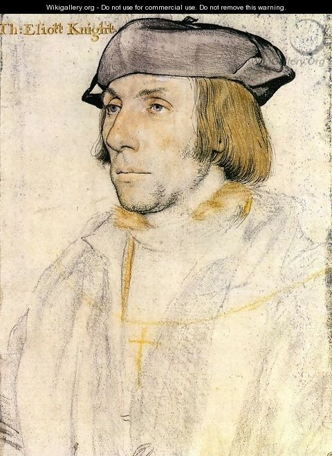 Sir Thomas Elyot 1532-33 - Hans, the Younger Holbein