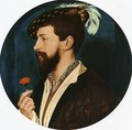 Portrait of Simon George 1536-37 - Hans, the Younger Holbein