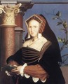 Portrait of Lady Mary Guildford 1527 - Hans, the Younger Holbein