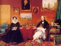 The Langford Family in their Drawing Room 1841 - James Holland