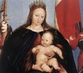 The Solothurn Madonna (detail) 1522 - Hans, the Younger Holbein