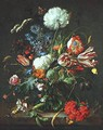 Vase of Flowers c. 1645 - Jan Davidsz. De Heem