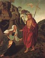 Apparition of Christ to Magdalen 1518-13 - Francisco Henriques
