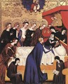 The Death of St. Clare 1410 - Master of Heiligenkreuz
