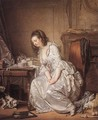 The Broken Mirror 1763 - Jean Baptiste Greuze